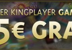 Kingplayer 5 Euro gratis
